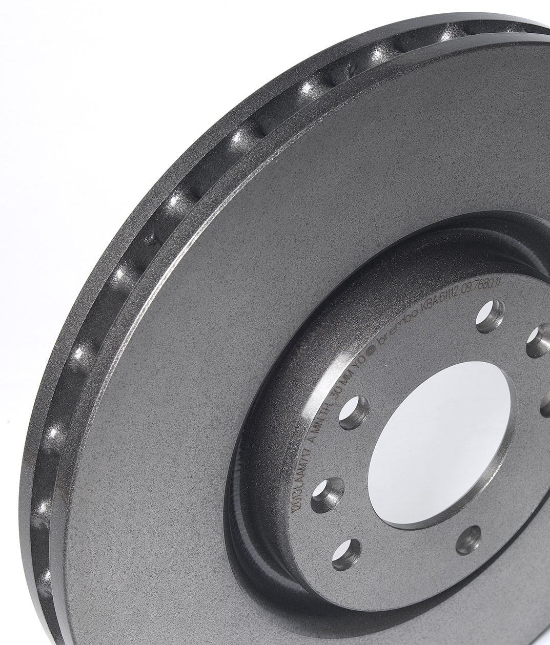 Brembo aftermarket disc in cast iron with pillar venting