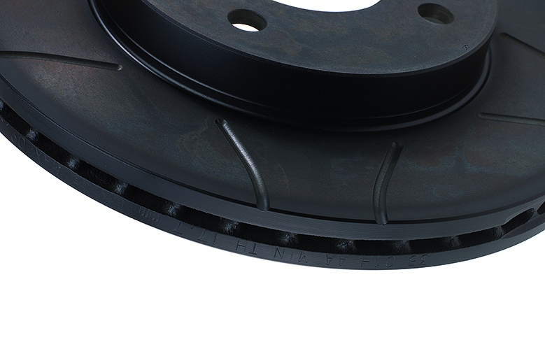 Brembo aftermarket disc in cast iron Max model slotted and ventilated