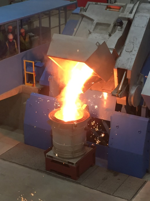 Brembo Celebrates First Pour at All-New Cast Iron Foundry in