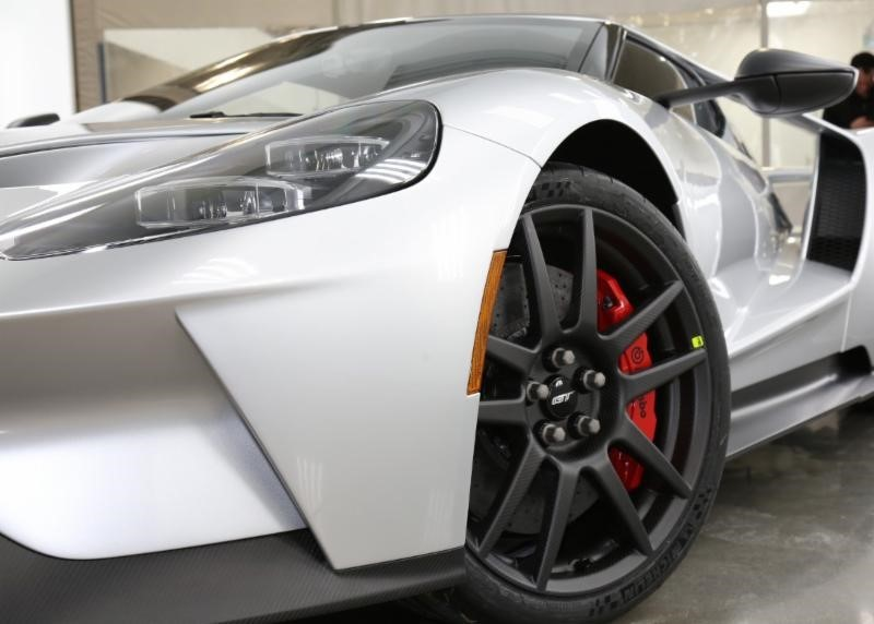 In Addition The Ford Gt Will Have A Brembo Electro Mechanical Parking Brake Epb