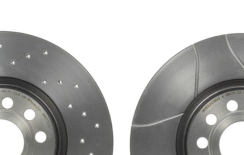 Rotinger Graphite Line Sport-Disques De Frein Arrière-Mercedes-Benz 8
