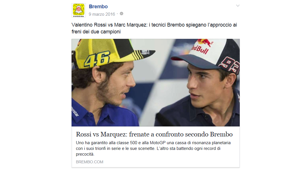 post rossi vs marquez