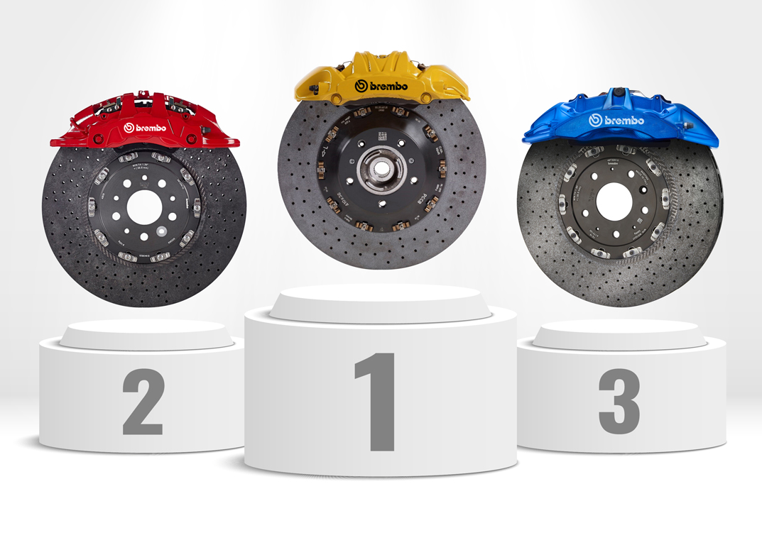 The 2018 ranking of the top 35 best braking cars in the