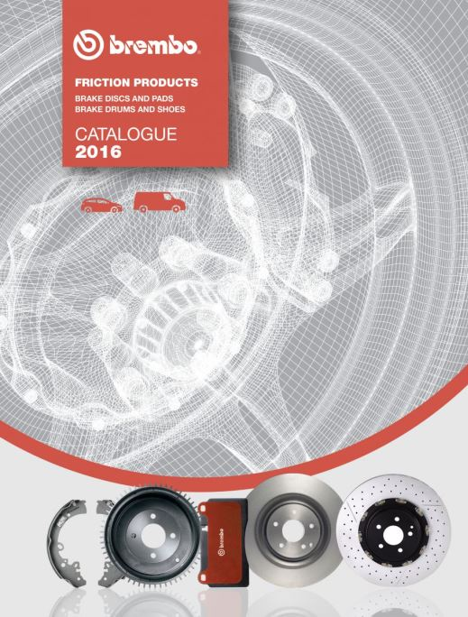 BREMBO FRICTION CATALOGUE: A CONTINUOUSLY EVOLVING CLASSIC