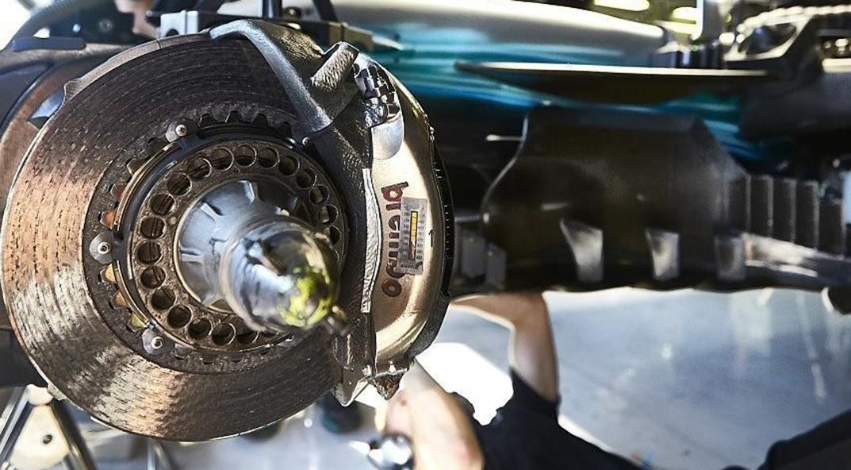 Pinza Brembo su Mercedes AMG Petronas Motorsport EQPower+