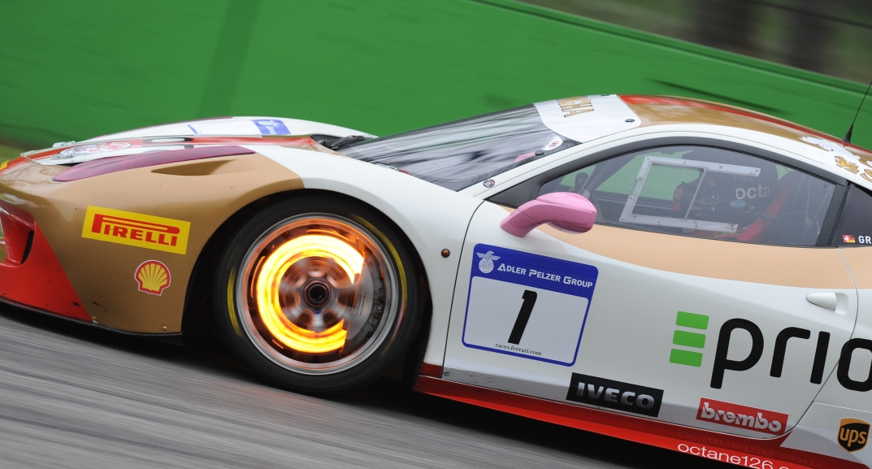 Ferrari 488 Challenge Rotor