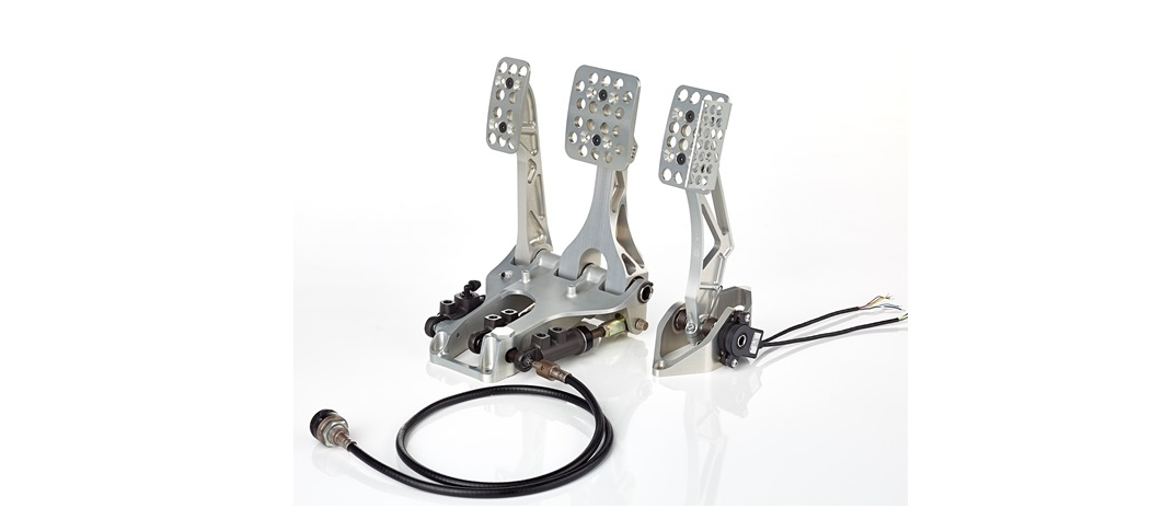 even a simple pedal box is backed up by a great deal of brembo research and innovation