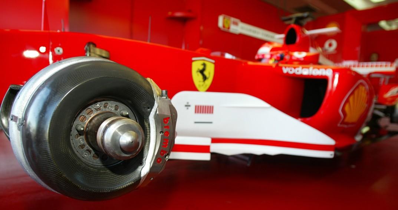 Schumacher Vs Vettel Braking Comparison According To
