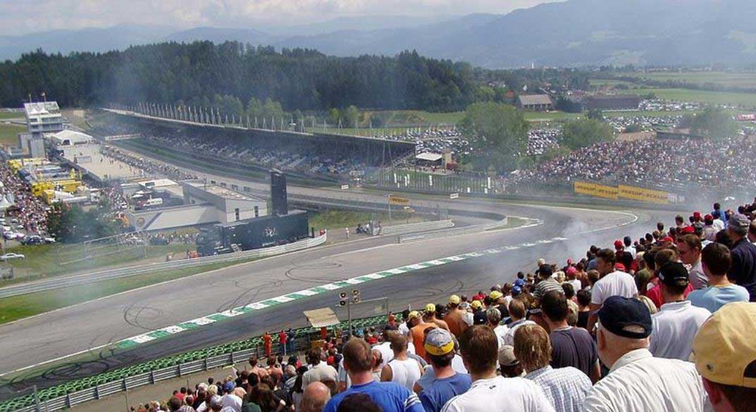Spielberg Circuit A1 ring 2003