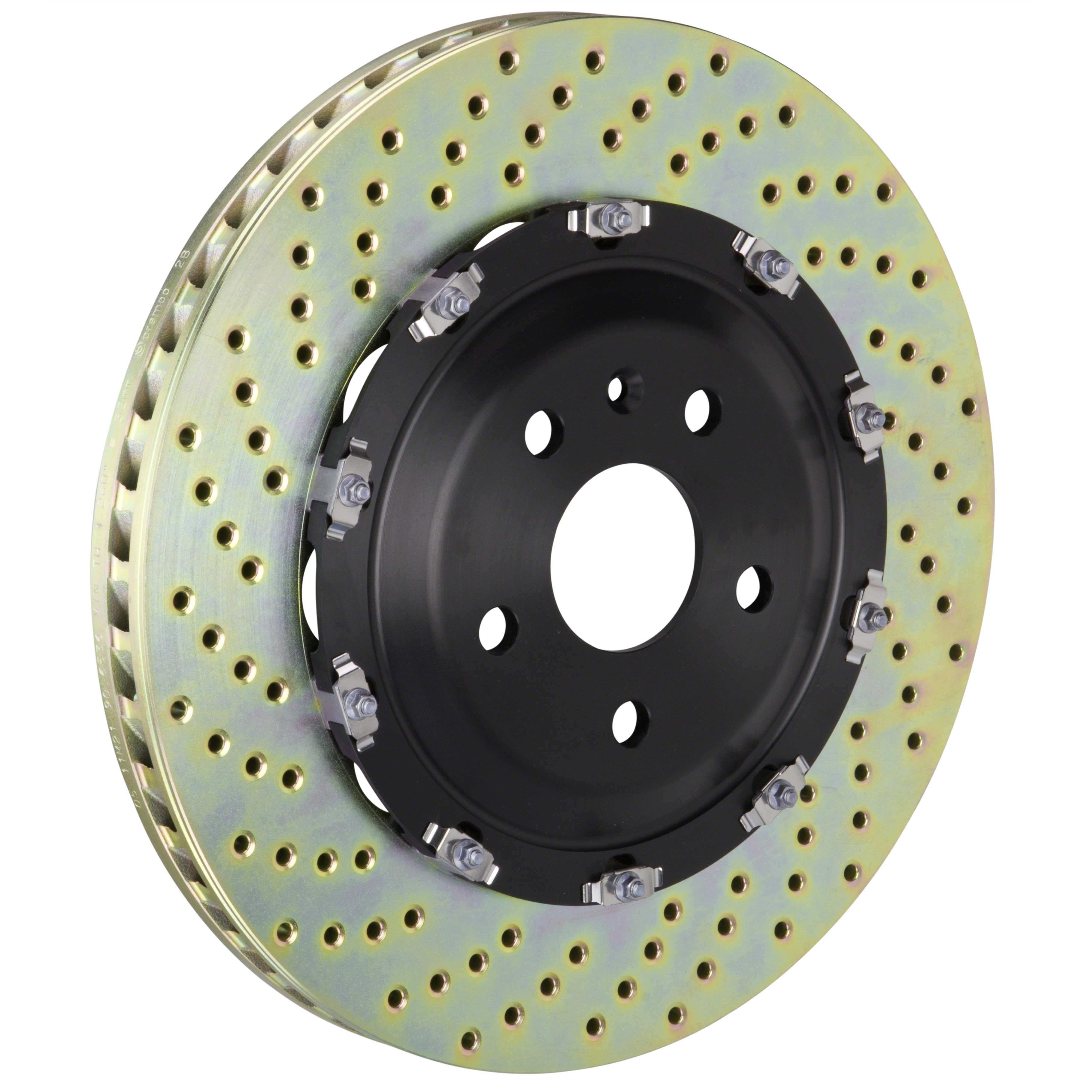 Brembo Front Brake Kit Ceramic Pads Vented Disc Rotors for Nissan Quest /'11-/'17